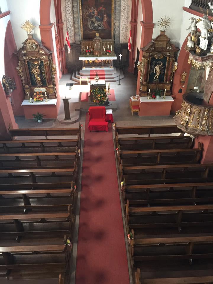 Kirche von der Empore