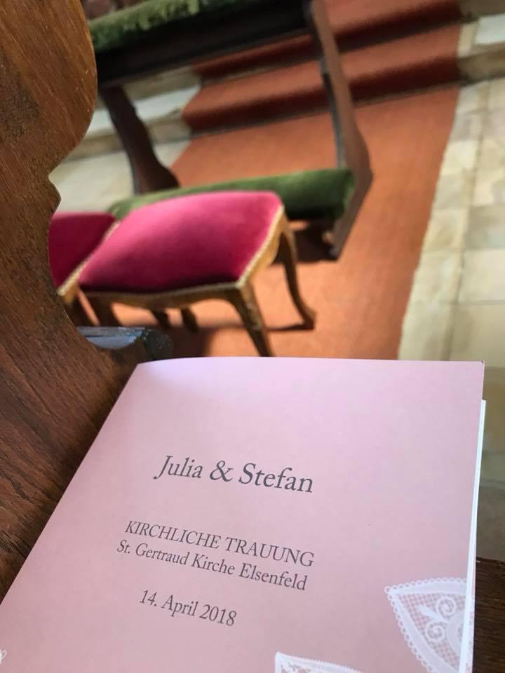 Kirchliche Trauung Julia & Stefan