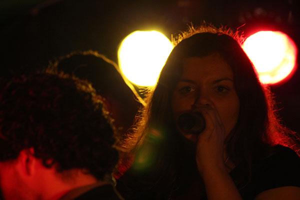 Steffi on Stage
