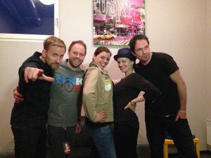 Die Happy Gruppenbild + Stefanie