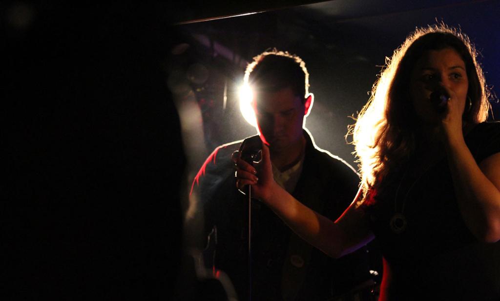 Steffi & Flashback auf der Bühne